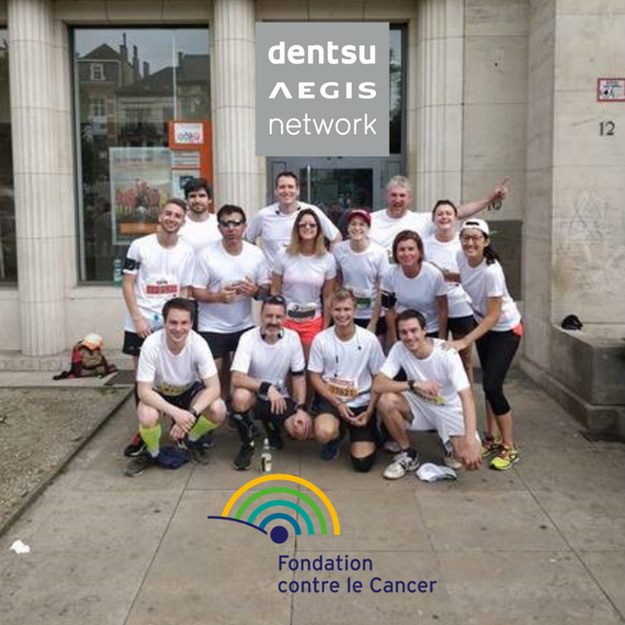 Dentsu Aegis Network court contre le Cancer