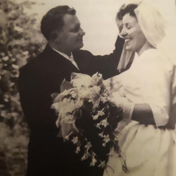 Jozee en Albert 8 augustus 1959-2019 Diamanten Bruiloft