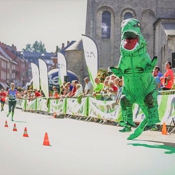 Les Tyrannosaures contre le cancer 2020 @ Semi-Marathon virtuel de Nivelles