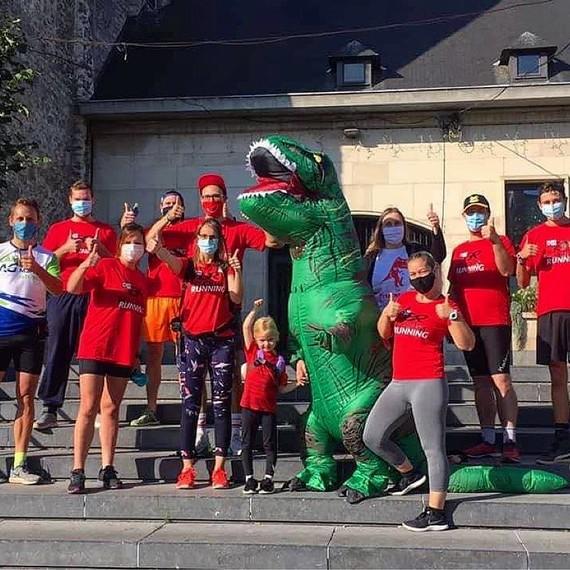 Les Tyrannosaures 2021 @ Semi-Marathon de Nivelles