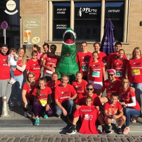 Les Tyrannosaures 2019 @ Semi-Marathon de Nivelles