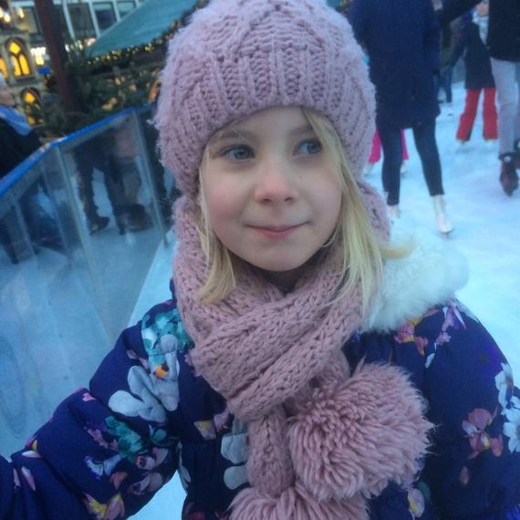 Hanne wordt 8 jaar!