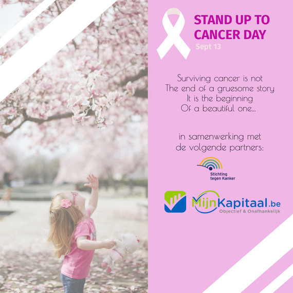MijnKapitaal.be - Stand up to cancer day
