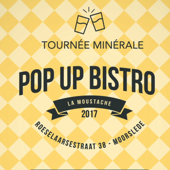 "Pop-up bistro ""La Moustache"""