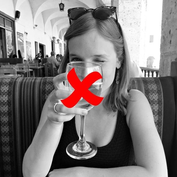 Een maand zonder wijntjes